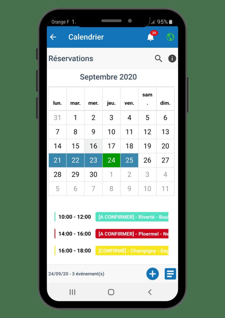 Agenda-mobile e-ASY